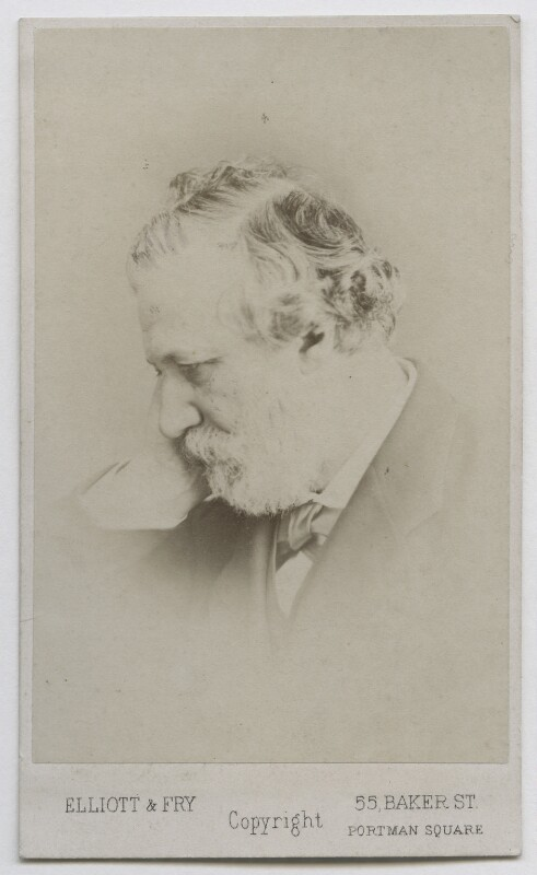 Robert Browning, by Elliott & Fry, 1860s - NPG Ax39903 - © National Portrait Gallery, London