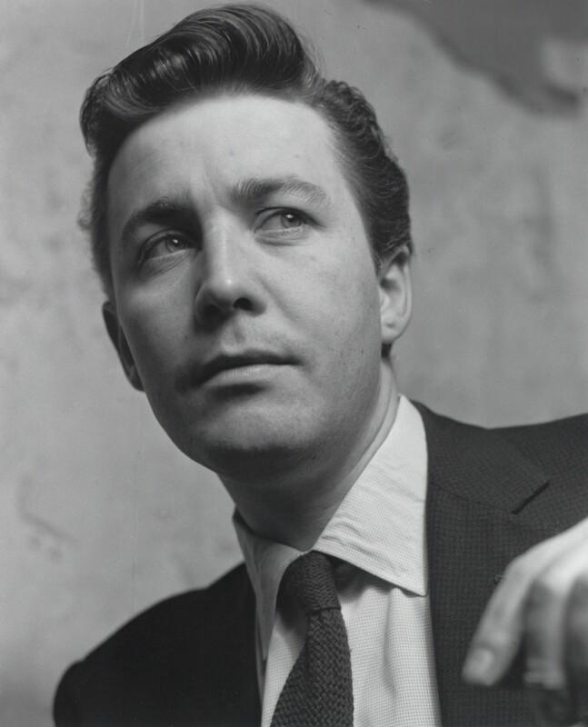 Jeffrey Joseph Bernard, by Lewis Morley, 1960s - NPG x125176 - © Lewis Morley Archive