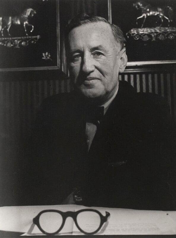 Ian Fleming, by Lewis Morley, 1963 - NPG x125180 - © Lewis Morley Archive