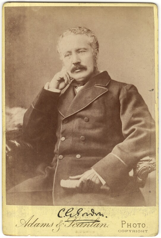 Charles George Gordon, by Adams & Scanlan, circa 1884 - NPG x29693 - © National Portrait Gallery, London