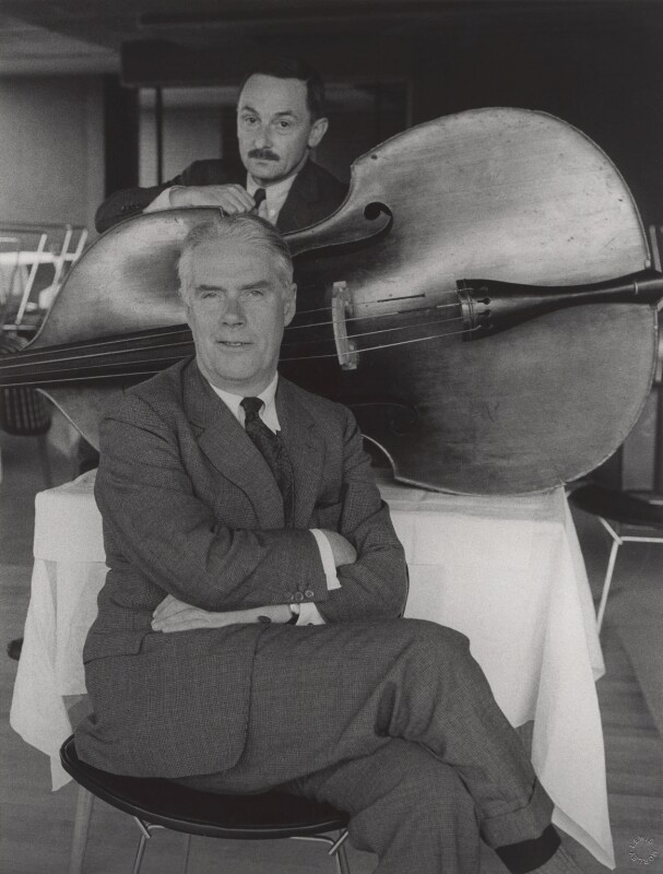 Anthony Powell; Riccardo Aragno, by Lewis Morley, 1963 - NPG x125219 - © Lewis Morley Archive