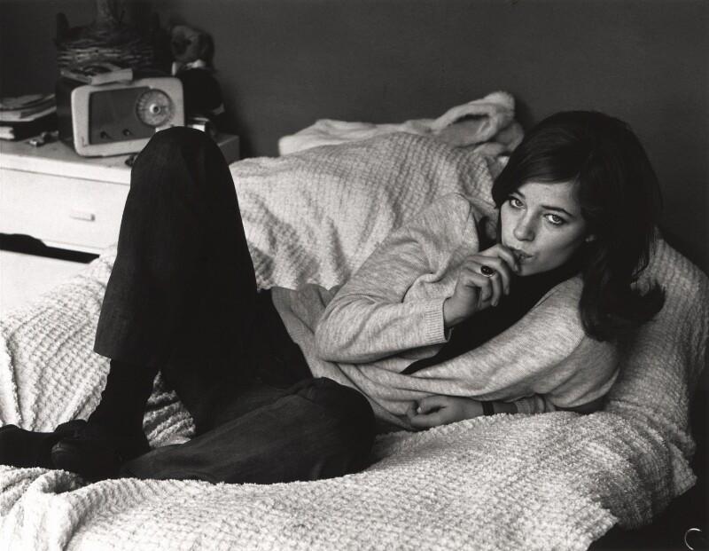 Charlotte Rampling, by Lewis Morley, 1963 - NPG x125222 - © Lewis Morley Archive / National Portrait Gallery, London