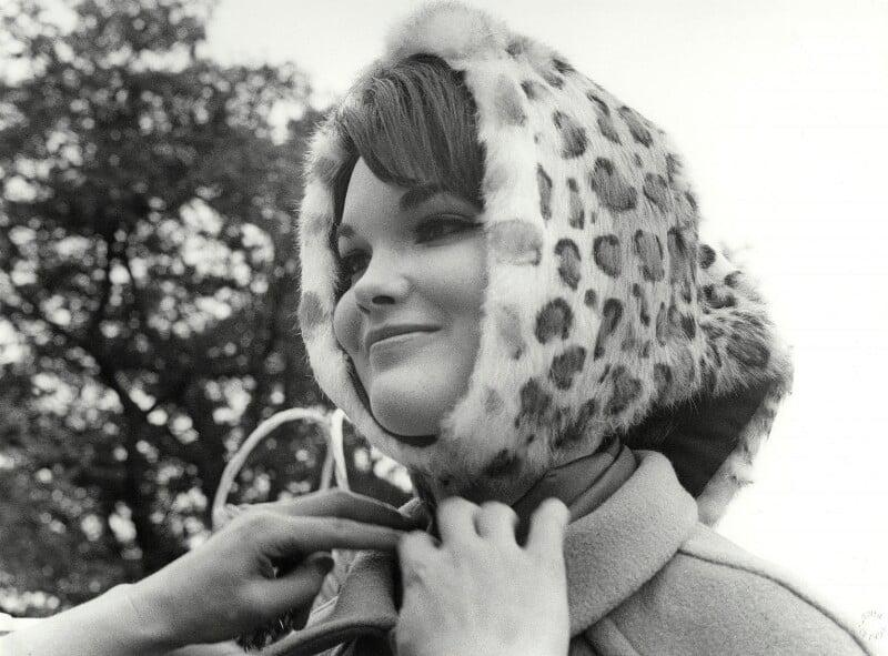 Henrietta Joan (née Tiarks), Duchess of Bedford, by Lewis Morley, 1960s - NPG x125240 - © Lewis Morley Archive