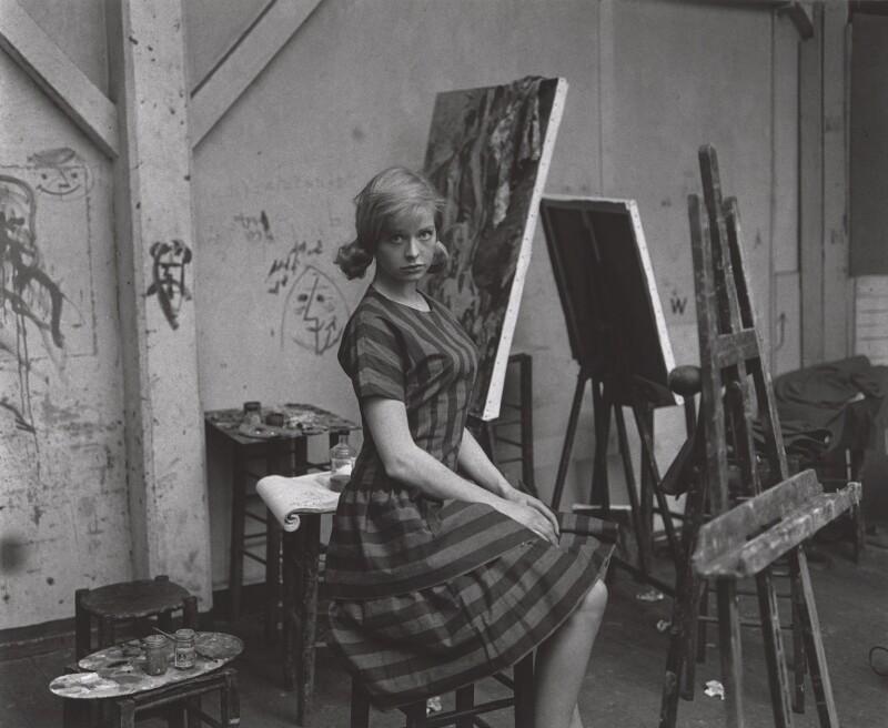 Susannah York, by Lewis Morley, early 1960s - NPG x125248 - © Lewis Morley Archive