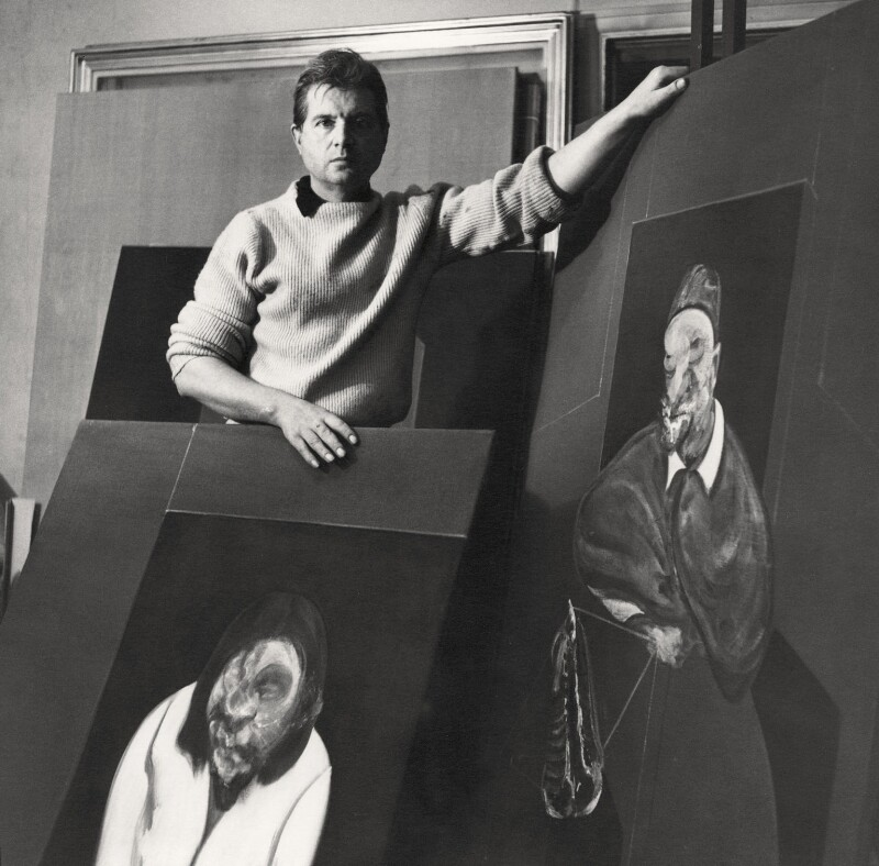 Francis Bacon, by Cecil Beaton, January 1960 - NPG x40010 - © Cecil Beaton Studio Archive, Sotheby's London