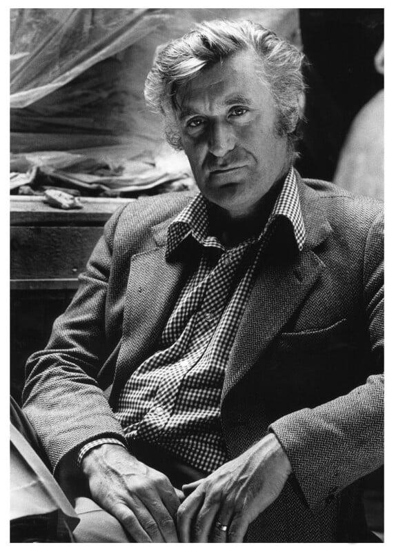 Ted Hughes, by Noel Chanan, 1979 - NPG x125273 - © Noel Chanan