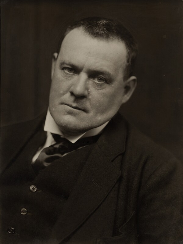 Hilaire Belloc, by Emil Otto ('E.O.') Hoppé, 1915 - NPG x7930 - © 2017 E.O. Hoppé Estate Collection / Curatorial Assistance Inc.