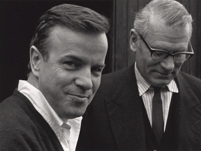 Franco Zeffirelli; Laurence Kerr Olivier, Baron Olivier, by Lewis Morley, 1960s - NPG x125257 - © Lewis Morley Archive