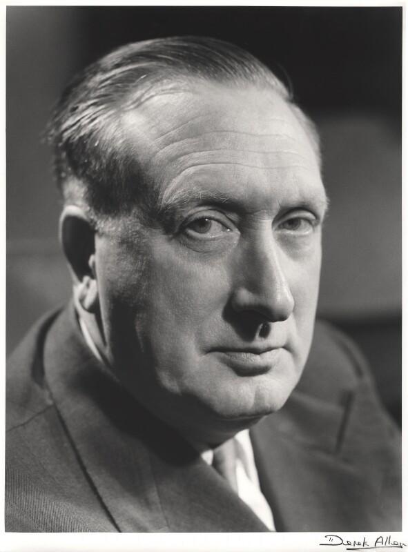 Sir William Turner Walton, by Derek Allen, 1954 - NPG x32799 - © Derek Allen / National Portrait Gallery, London
