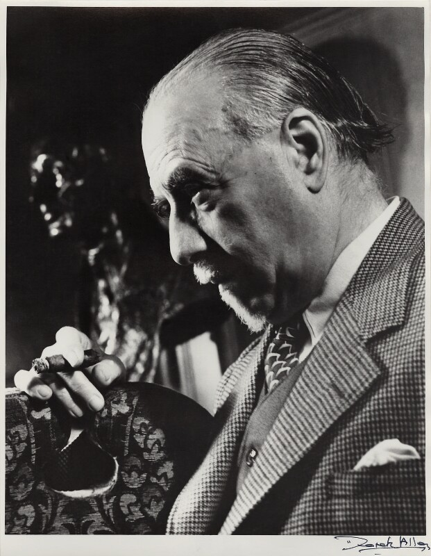 Sir Thomas Beecham, 2nd Bt, by Derek Allen, 1948 - NPG x24101 - © Derek Allen / National Portrait Gallery, London