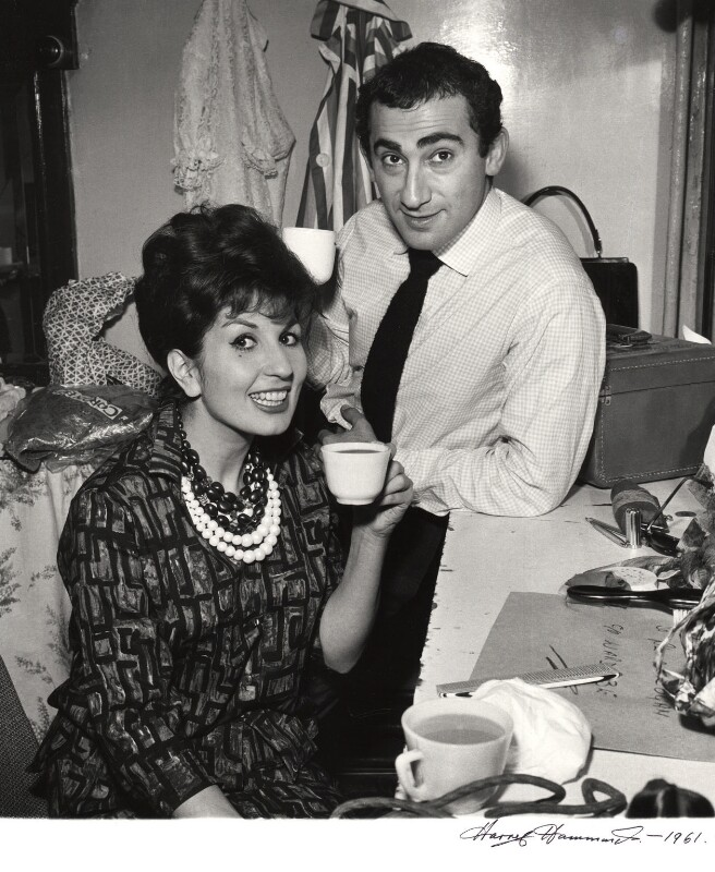 Alma Cogan; Lionel Bart, by Harry Hammond, 1960 - NPG x15515 - © Harry Hammond / Victoria & Albert Museum