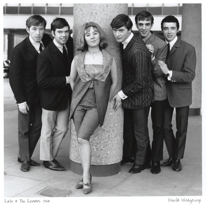 Lulu and The Luvvers, by David Wedgbury, 1964 - NPG x47356 - © National Portrait Gallery, London
