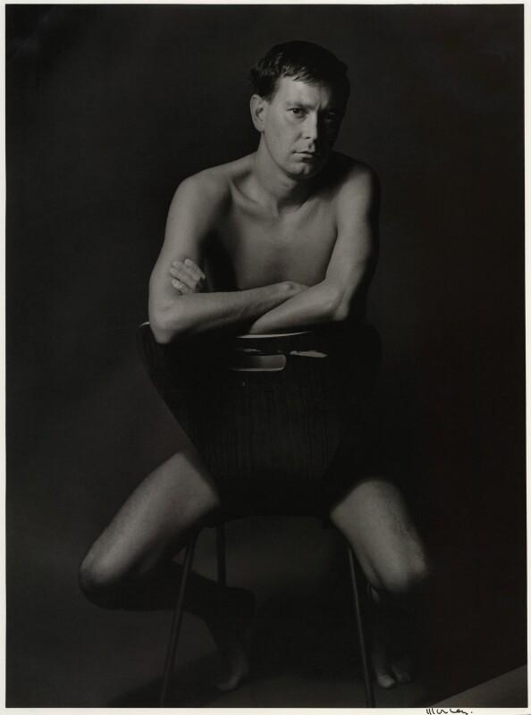 Joe Orton, by Lewis Morley, 1965 - NPG x18547 - © Lewis Morley Archive