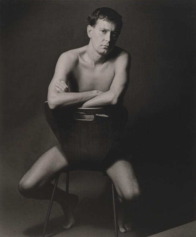 Joe Orton, by Lewis Morley, 1965 - NPG x45226 - © Lewis Morley Archive