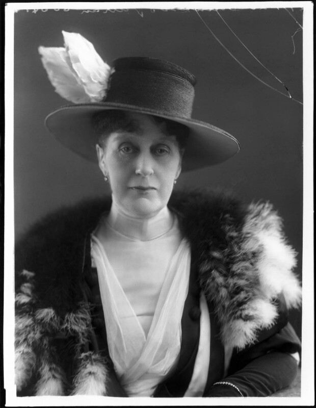 Winifred Ellen Gore (née Reilly), Countess of Arran, by Bassano Ltd, 27 January 1920 - NPG x120078 - © National Portrait Gallery, London