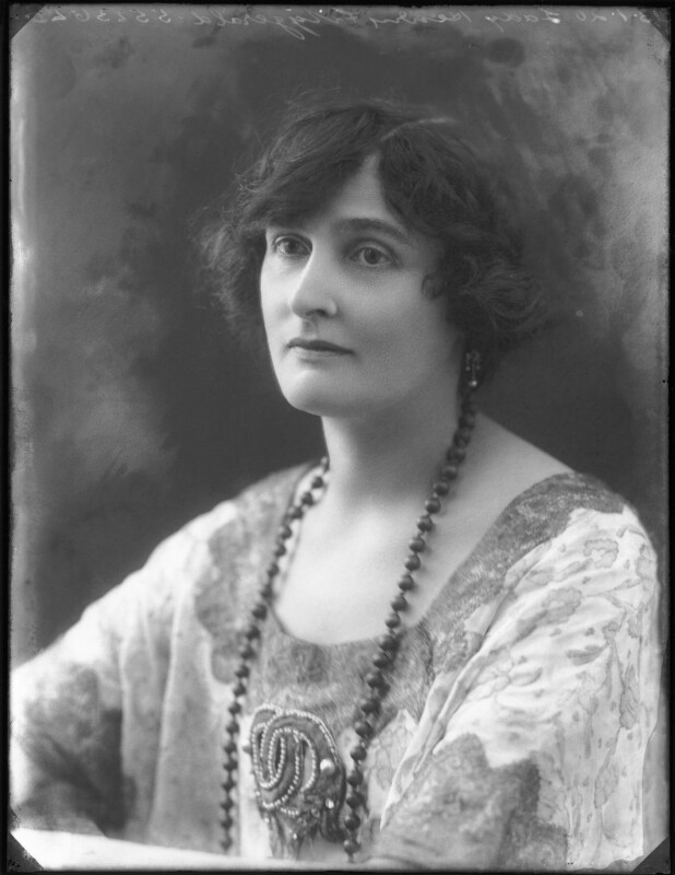 Lady Inez Charlotte Grace Fitzgerald (née Caseberd Botelier), by Bassano Ltd, 13 January 1920 - NPG x120028 - © National Portrait Gallery, London