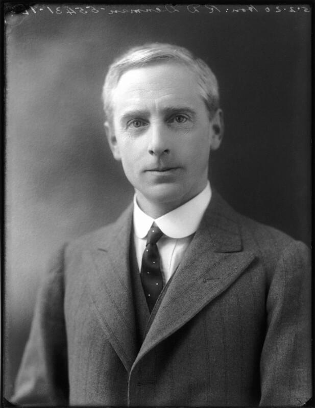 Sir Richard Douglas Denman, 1st Bt, by Bassano Ltd, 5 February 1920 - NPG x120126 - © National Portrait Gallery, London