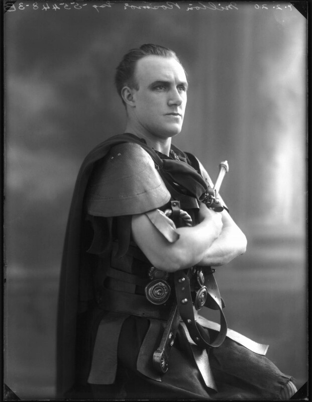 Milton Rosmer as Cassius in `Julius Caesar`, by Bassano Ltd, 7 February 1920 - NPG x120142 - © National Portrait Gallery, London