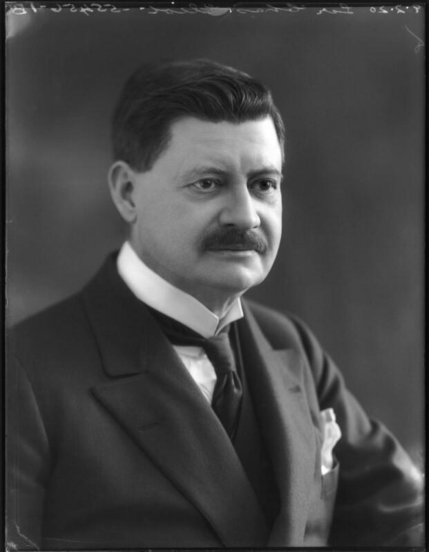 Sir Charles Norton Edgcumbe Eliot, by Bassano Ltd, 9 February 1920 - NPG x120144 - © National Portrait Gallery, London