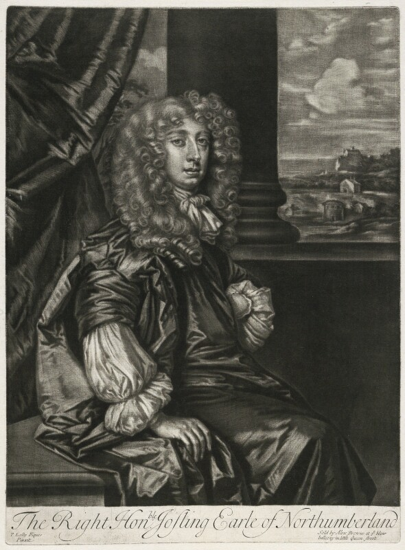 Joceline Percy, 11th Earl of Northumberland, published by Alexander Browne, after  Sir Peter Lely, circa 1684 - NPG D11417 - © National Portrait Gallery, London