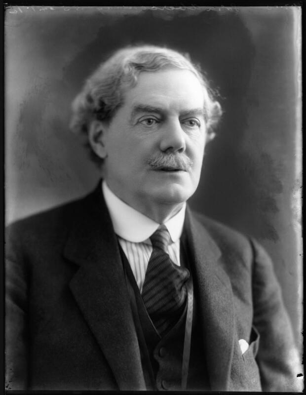 Charles Benjamin Bright McLaren, 1st Baron Aberconway, by Bassano Ltd, 1 March 1920 - NPG x120245 - © National Portrait Gallery, London