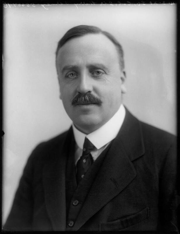 Sir Harry Calvert Williams Verney, 4th Bt, by Bassano Ltd, 4 March 1920 - NPG x120280 - © National Portrait Gallery, London