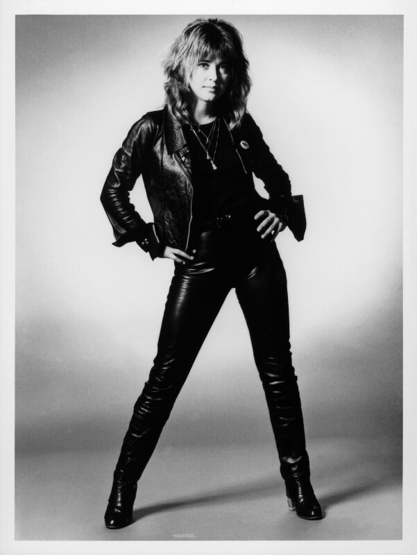 Suzi Quatro, by Allan Ballard, 1981 - NPG x125284 - © Allan Ballard / Scope Features