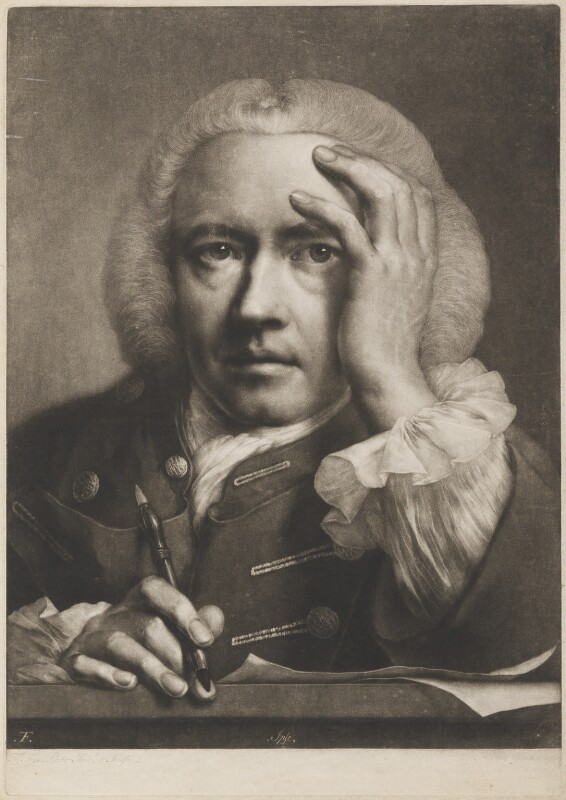 Thomas Frye, by Thomas Frye, published 1760 - NPG D11284 - © National Portrait Gallery, London
