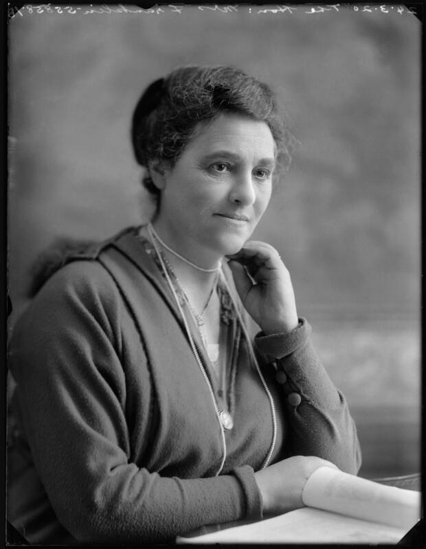 Hon. Henrietta Franklin (née Montagu), by Bassano Ltd, 24 March 1920 - NPG x120385 - © National Portrait Gallery, London