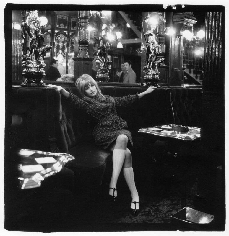 Marianne Faithfull, by Gered Mankowitz, 1964 - NPG x88064 - Photograph by Gered Mankowitz © Bowstir Ltd 2018 / mankowitz.com