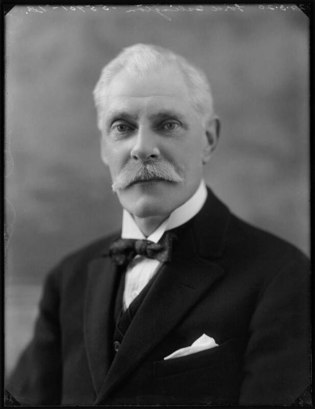 John Poynder Dickson-Poynder, 1st Baron Islington, by Bassano Ltd, 29 March 1920 - NPG x120406 - © National Portrait Gallery, London