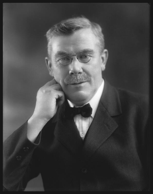 William Adamson, by Bassano Ltd, 2 February 1920 - NPG x22373 - © National Portrait Gallery, London