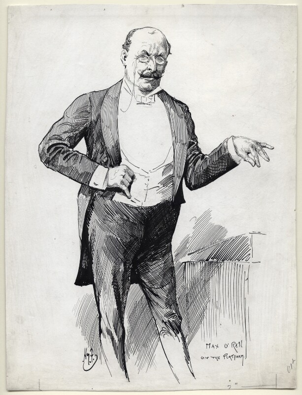Max O'Rell, by Harry Furniss, late 19th century - NPG D11487 - © National Portrait Gallery, London