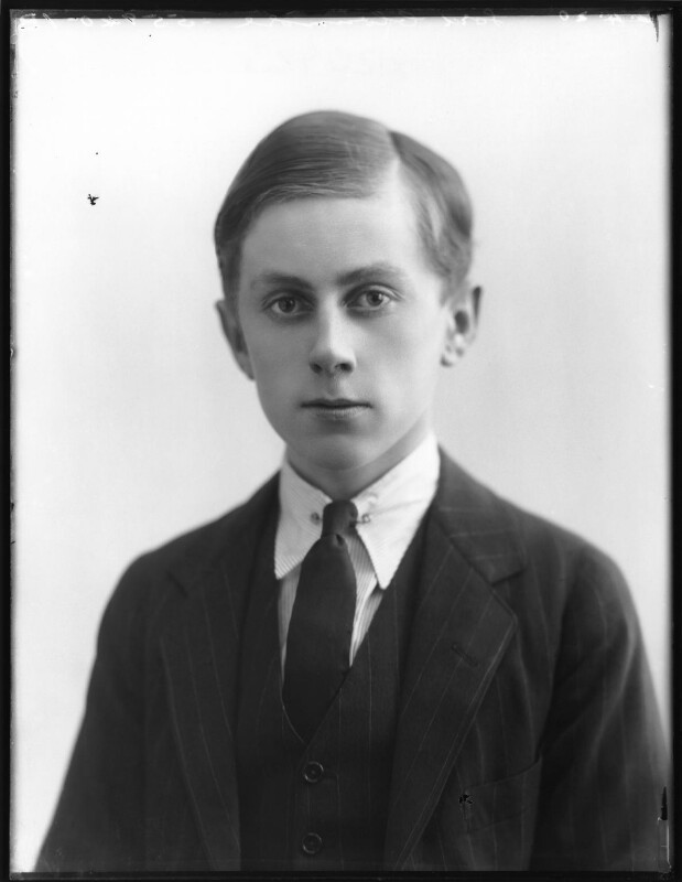 William Cecil James Philip John Paul Howard Clonmore, 8th Earl of Wicklow, by Bassano Ltd, 6 April 1920 - NPG x120423 - © National Portrait Gallery, London