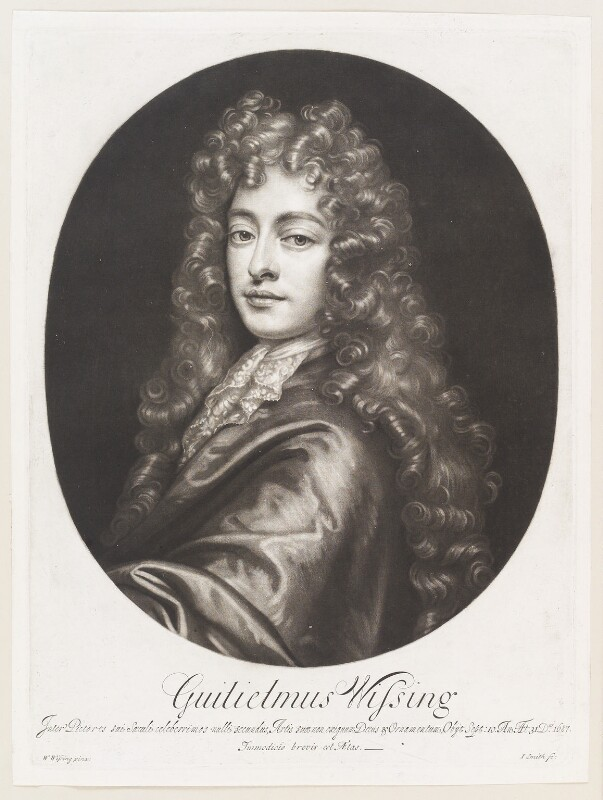 Willem Wissing, by John Smith, after  Willem Wissing, 1687 - NPG D11497 - © National Portrait Gallery, London