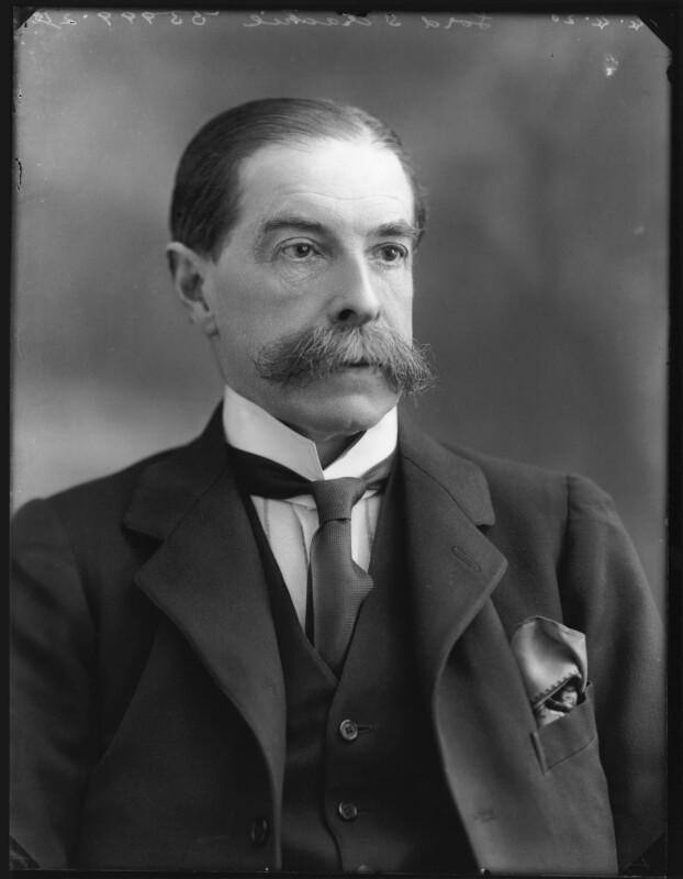 Edward Strachey, 1st Baron Strachie, by Bassano Ltd, 14 April 1920 - NPG x120458 - © National Portrait Gallery, London