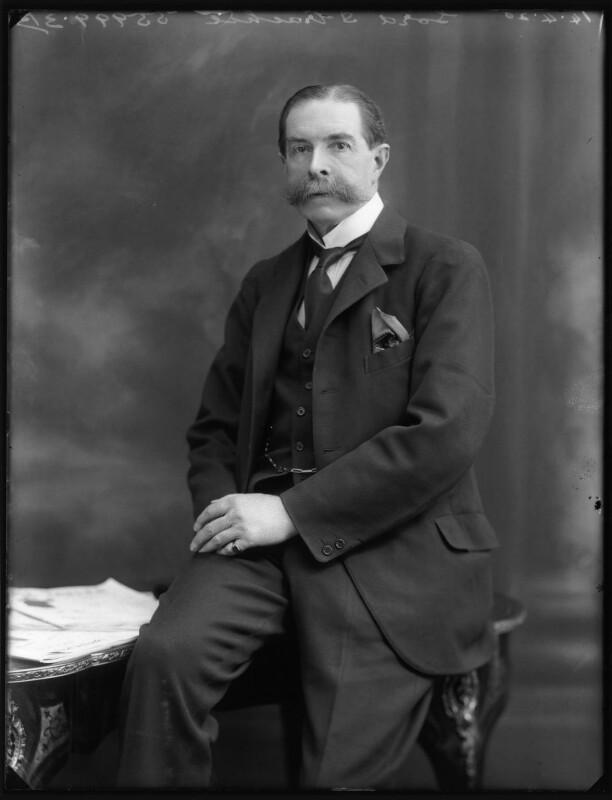 Edward Strachey, 1st Baron Strachie, by Bassano Ltd, 14 April 1920 - NPG x120459 - © National Portrait Gallery, London