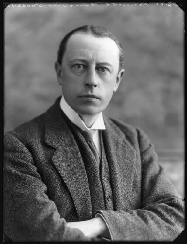 Sir Kenneth Ralph Barnes, by Bassano Ltd, 16 April 1920 - NPG x120468 - © National Portrait Gallery, London