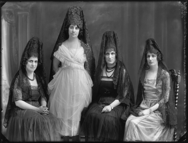 Members of the Spanish aristocracy, by Bassano Ltd, 17 April 1920 - NPG x120479 - © National Portrait Gallery, London