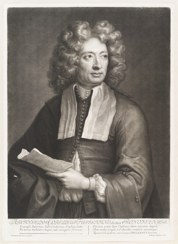 Arcangelo Corelli, by John Smith, after  Hugh Howard, 1704 - NPG D11509 - © National Portrait Gallery, London