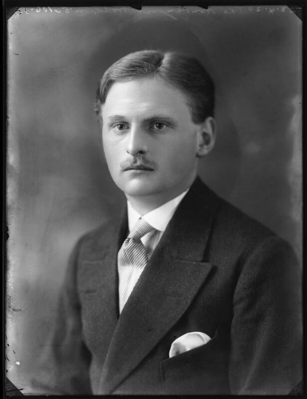 Angus William Eden Holden, 3rd Baron Holden, by Bassano Ltd, 23 April 1920 - NPG x120503 - © National Portrait Gallery, London