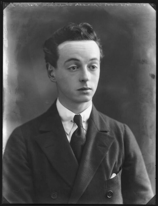 Lord Ivor Charles Spencer-Churchill, by Bassano Ltd, 28 April 1920 - NPG x120544 - © National Portrait Gallery, London