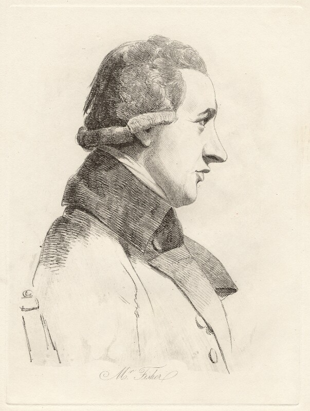 John Fisher, by William Daniell, after  George Dance, (28 November 1793) - NPG D12063 - © National Portrait Gallery, London