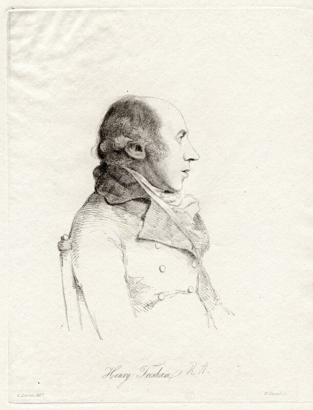 Henry Tresham, by William Daniell, after  George Dance, (10 March 1793) - NPG D12107 - © National Portrait Gallery, London