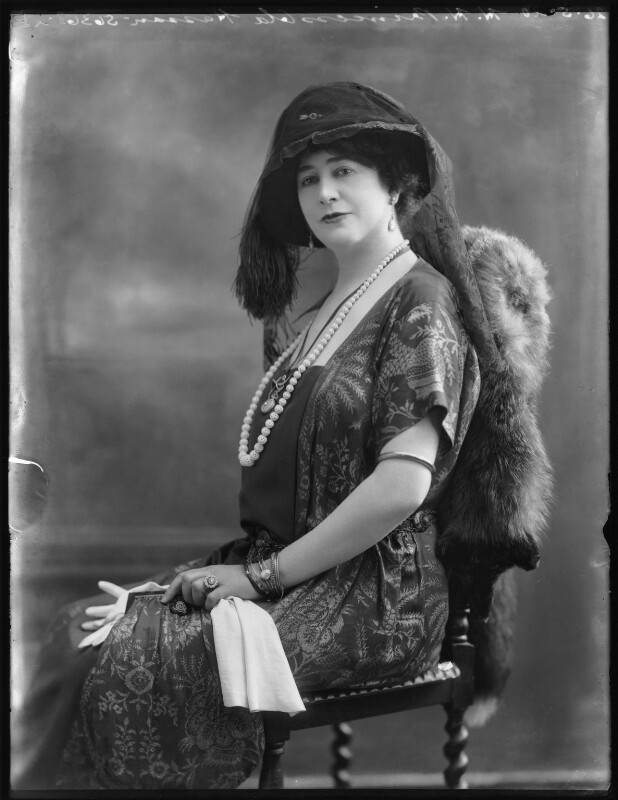 Princess Ola Hassan (née Ola Humphrey), by Bassano Ltd, 26 May 1920 - NPG x120603 - © National Portrait Gallery, London