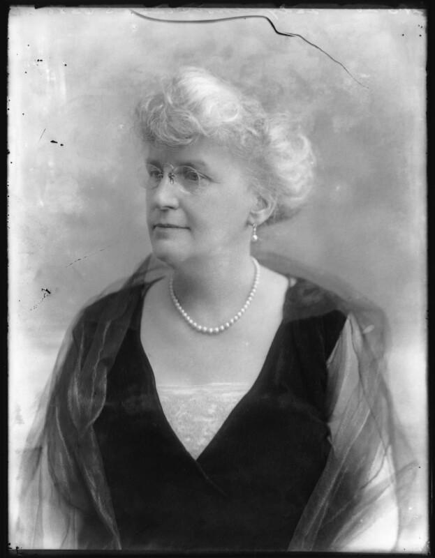 Annie Beekman Atholstan (née Hamilton), Lady Atholstan, by Bassano Ltd, 29 May 1920 - NPG x120633 - © National Portrait Gallery, London