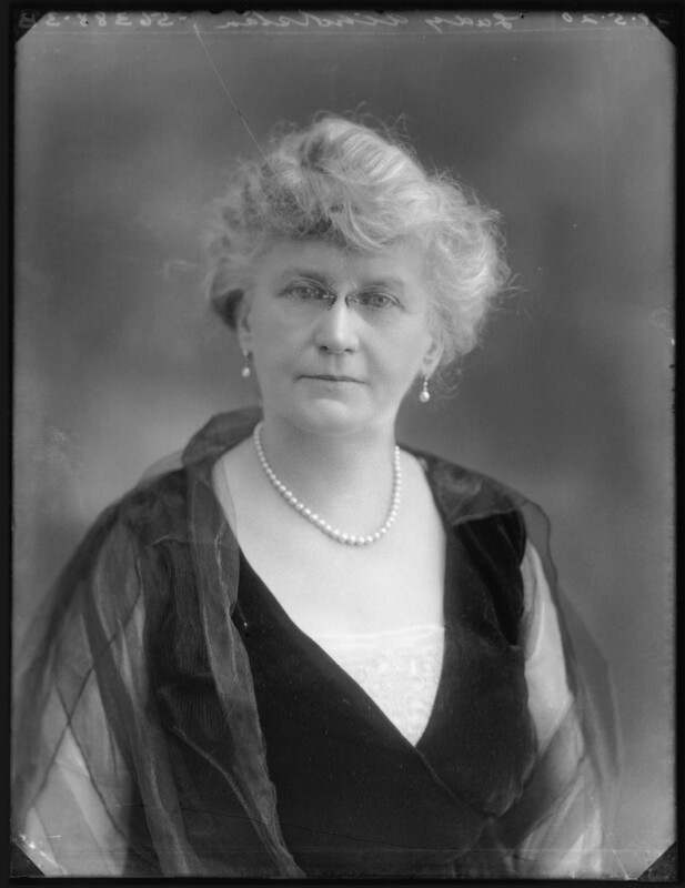 Annie Beekman Atholstan (née Hamilton), Lady Atholstan, by Bassano Ltd, 29 May 1920 - NPG x120634 - © National Portrait Gallery, London