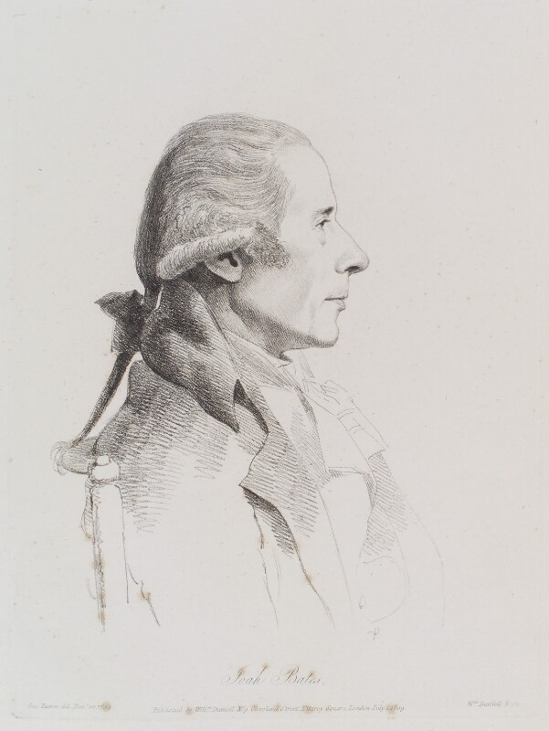 Joah Bates, by William Daniell, after  George Dance, published 1 July 1809 (20 December 1794) - NPG D12131 - © National Portrait Gallery, London