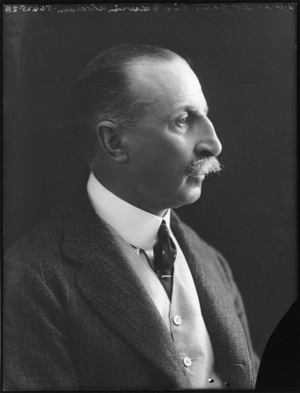 Sir Edwin Alfred Hervey Alderson, by Bassano Ltd, 2 June 1920 - NPG x78635 - © National Portrait Gallery, London
