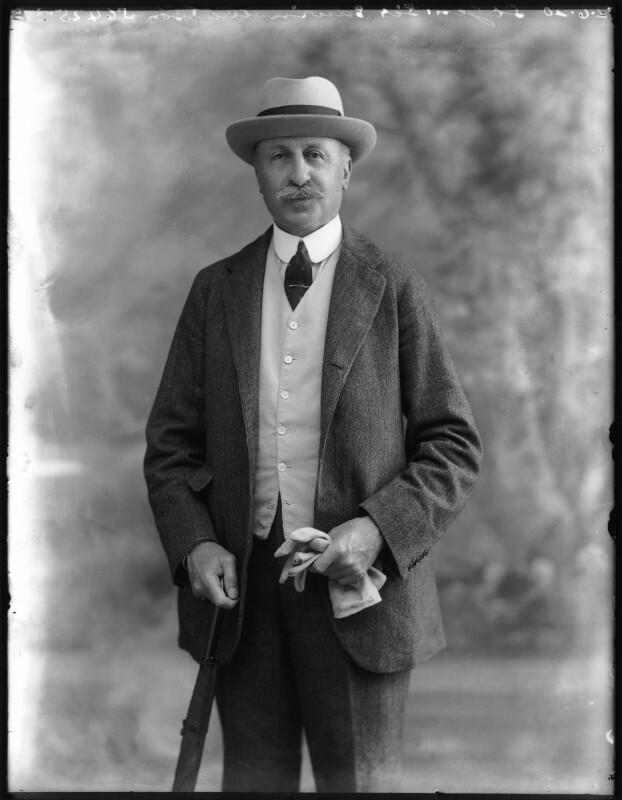 Sir Edwin Alfred Hervey Alderson, by Bassano Ltd, 2 June 1920 - NPG x78636 - © National Portrait Gallery, London
